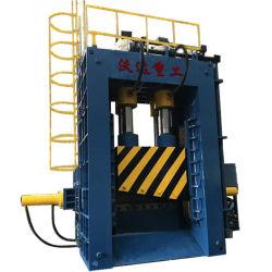 630 tonnes de ferraille d'acier du bras automatique feuille de métal/plaque Shearer Machine Type de trame Production-Line Presse hydraulique Machine de cisaillement