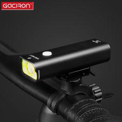 Liga de Alumínio Gaciron IPX6 Recarregável à prova de luz de bicicletas 800 lúmen estrada LED acessórios para bicicletas Lâmpada Principal