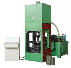 Plancha de aluminio hidráulico automático de reciclaje de chatarra máquinas Briquetters Chips Briquetting Press