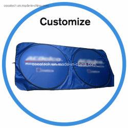 Avant de promotion de la publicité personnalisée PE Voiture magnétique ombrelle pliable et fenêtre de voiture de Parasol Parasol de neige