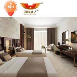 Insieme moderno cinque stelle su ordine della mobilia della camera da letto della stanza dell'albergo di lusso
