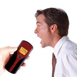 Respiración respiración alerta Digital de Alcohol Tester LCD con alerta sonora rápida respuesta de la estacionamiento Breathalyser alcoholímetro