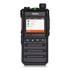 Walkie Talkie Inrico portátil recargable radio de dos vías de la red 4G T640