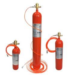 نظام إخماد الحريق بثاني أكسيد الكربون عالي الضغط المباشر الذي يتم تنشيطه بواسطة الحريق الأنبوب