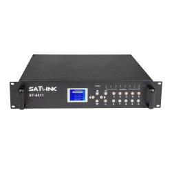 8 en 2 Modulador DVB-T Programa Ku