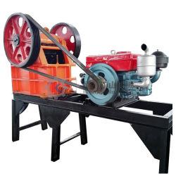 Leistungs-Kiefer-Zerkleinerungsmaschine für kleines zum mittlere Größen-Bergbau