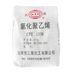 Gummiadditive CPE135b für flammhemmende Drähte und Kabelummantelung