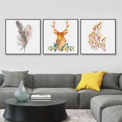 La pintura decorativa de los países nórdicos de la luz de moderno y minimalista Painti colgante de lujo