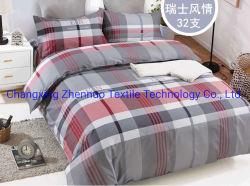Microfibre 100% polyester brossé Bedsheet Peanch Imprimé peau de tissu pour Home Textile