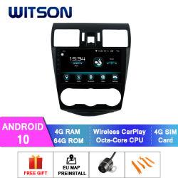 Witson Android 10 автомобильной навигации GPS DVD плеер для Subaru 2013-2015 Форестера 4 ГБ оперативной памяти 64Гб флэш-памяти большой экран в машине DVD плеер