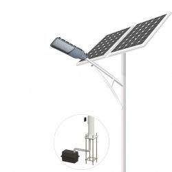 30 واط 60 واط 90 واط LED ضوء الشارع الشمسيّة قائمة الأسعار مع بطارية ليثيوم فردية