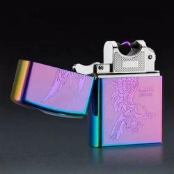 ولاعة معدنية USB كهربائية ولاعة قابلة للشحن رخيصة قابلة للشحن من نوع قابل للشحن