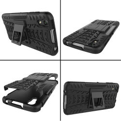Kickstand golpes TPU PC Teléfono Móvil de Alcatel Idol 4 /Blackberry Dtek50