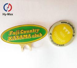 Personalizar barata magneto de Metal Golf Hat Clip com marcador de Esferas