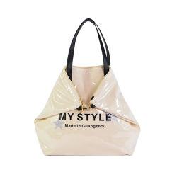 Mesdames fashion transparent en PVC de gelée de bonbons Lettrer épaule sacs fourre-tout pour les femmes 2021 mini sacs et sacs à main