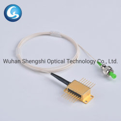 1310nm Dfb Butterfly Módulo Laser com cabo em espiral para comunicação de fibra