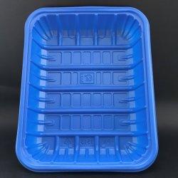 Cor azul médio PP embalagem da placa de alimentação