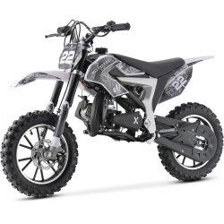 50cc 2-тактный детский мини мотоцикл газа грязь на велосипеде
