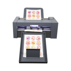 Un traceur3 numérique Feuille de bureau petit autocollant Machine de coupe