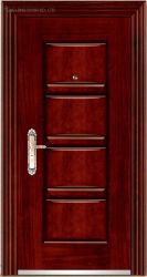 Cer zugelassene Sicherheits-/Copper-Panel-/Aluminiumpanel-gepanzerte chinesische Art-Tür