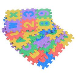البومات اللعب بالحصيرة قفل 1 حصيرة لغز حصيرة حصيرة Eva Fooal Floor Mat EVA Baby Play Mat