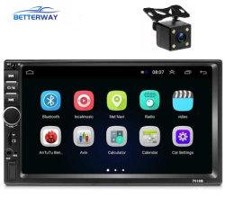 """GPS 항법 Bluetooth WiFi 보조 FM를 가진 Betterway 7010b 인조 인간 8.1 자동차 라디오 2+16GB 2 DIN 7 """" 차 입체 음향 영상"""