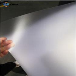 Frost матовая / тиснение Пэт жесткой прозрачные листы рулон 0,5мм карты материала
