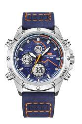 Reloj de pulsera Reloj Digital Reloj hombre Reloj de Cuero reloj deportivo para el comercio al por mayor