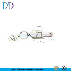 Lecteur Flash USB en métal de gros Lecteur Flash USB de trousseau