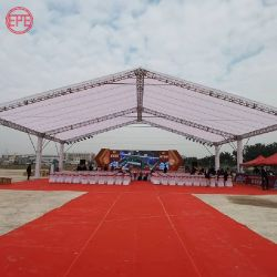 Evento per matrimoni, esposizione di luci, stand decorativo in alluminio, mostra di truss Configurazione
