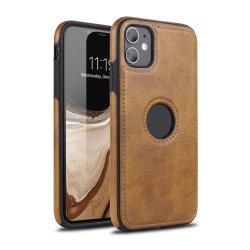 El cuero y materiales de lujo para los negocios de TPU Teléfono Móvil de los casos para el iPhone 11