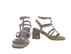 Pattini unici di svago del sandalo degli alti talloni della signora Women Shoe di modo