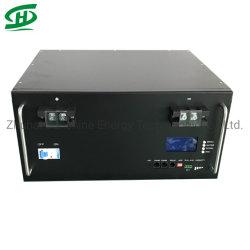 24 В 200Ah 50квт LiFePO4 литий-ионный Pack Li-ion аккумулятор для телекоммуникационных станции резервное копирование Солнечной системы