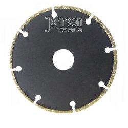 105-300mm ha placcato il diamante le lame per sega per marmo e granito
