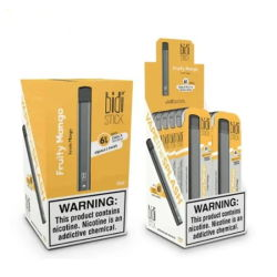 2020 Hete Elektronische Sigaret 500 van de Pen Vape van de Stok van Bidi van de Verkoop Beschikbare de Staaf van de Rookwolk van Bidi van Rookwolken