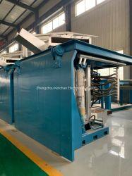 ماكينة حثّ المعادن الكهربائية الصناعية لخردة نحاسية بلون فضي ذهبي الحديد انصهار الألومنيوم الصلب