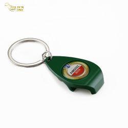 Custom печати наклейки с логотипом металлических сувенирных бутылок цепочки ключей в подарок для продвижения