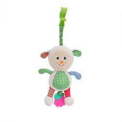 赤ん坊音楽ヒツジのプラシ天の電気慰める人の柔らかい工場によって詰められるおもちゃ