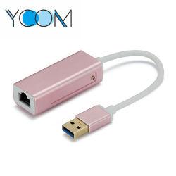 Ycom Mini hub USB 3.0 Adaptador Ethernet RJ45 Hub USB