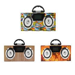 Outdoor Wireless mini hi-fi de som estéreo portátil com som Bass TF Card Alto-falante Bluetooth Rádio FM