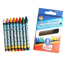 Personalizar Non-Toxic mayorista 4/6/12/24 Color lápices de cera de Dibujo del artista