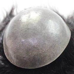 Pelle sottile eccellente tutte le parrucche indiane V-Collegate dei capelli umani della linea sottile naturale del Toupee per gli uomini