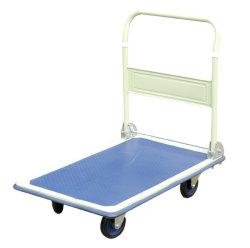 金属の4つの車輪が付いているFoldableプラットホームのカート