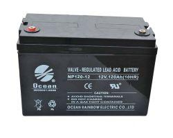 12V 120Ah plomb-acide rechargeable Batterie UPS