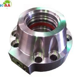Il CNC ha lavorato la ghiandola alla macchina del cilindro idraulico dell'acciaio inossidabile fatta da Mazak