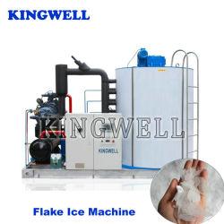 De industriële Machine van het Ijs van de Vlok voor de Ton van Machine 1-30 van het Ijs van de VisIndustrie/Dag