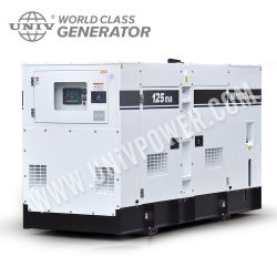 100kVA Low Noise Electric Diesel Generator (UC80E)
