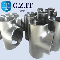 """Le raccord de tuyau sans soudure en acier au carbone 18"""" STD directement le raccord en T"""