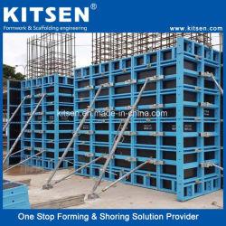 Parede de alumínio leve e prático Cofragem Sistema Frmwork Coluna