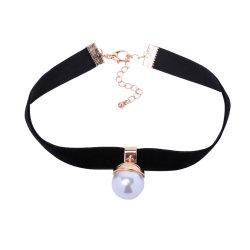 Groothandel Top Design Women Fashion Necklaces Sieraden Accessoires Retro Pearl Choker Ketting